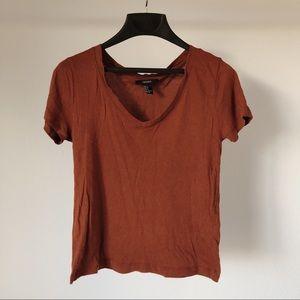 Forever 21 V-Neck Shirt